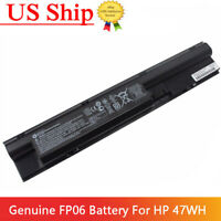 OEM Genuine Battery for HP ProBook 440 450 470 G0 455 G1 FP06 707617-421 H6L26AA