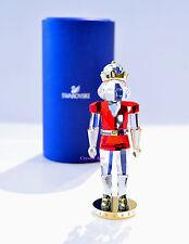 Swarovski Crystal Christmas Nutcracker Red Traditional 5060260 Brand New In Box