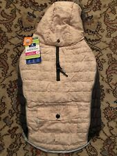 Top Paw Hooded Winter Coat, Pink