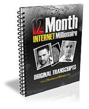 12 Month Internet Millionaire - Vincent Vince James