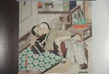 Chinse cuture Qing dynasty style person! Hand painted Pornography Drawing!