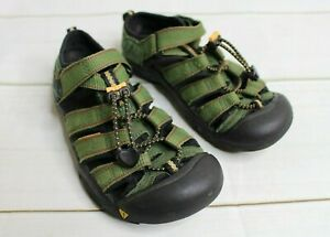 Toddle Boys' 2 Keen Green Newport Hiking Outdoors Sandals