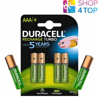 4 + 2 FREE DURACELL RECHARGEABLE AAA BATTERIEN 1.2V HR03 MICRO NiMH 850mAh NEU
