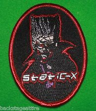 Static-X Wayne Cartoon Bled for Days Fukuda Iron/Sew On Patch Badge Applique-New