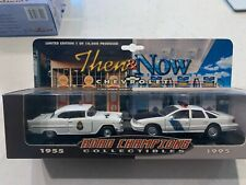 1999 Road Champs Collectibles Then & Now Chevrolet Police Cars 1955 - 1995