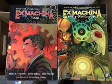 Ex Machina Volume #3 Fact V. Fiction & Tag Graphic Novel Lot 2 Comic Books