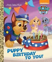 A little golden book: Puppy birthday to you! by Fabrizio Petrossi (Hardback)