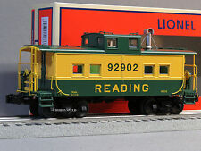 LIONEL READING NORTHEAST STYLE LIGHTED CABOOSE 92902 o gauge train 6-83358 NEW