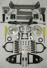 1953 - 1956 Ford F100 Mustang II Power Front End Suspension Kit Stock Slotted