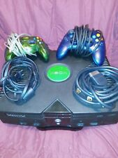 Microsoft Original Xbox System Console w/cords controller -- Tested and Works!