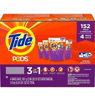 TIDE PODS LIQUID LAUNDRY DETERGENT, SPRING MEADOWS (152 PODS)