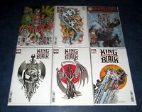 KING IN BLACK 1 2 3 4 5 (of 5) Ian Bederman TATTOO variant set DONNY CATES VENOM