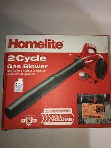 Open Box !! HOMELITE 150 MPH 400 CFM 2-Cycle Handheld Gas Leaf Blower