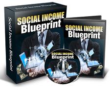 Social Income Blueprint - Make Money on Social Media Delivered On CD-ROM