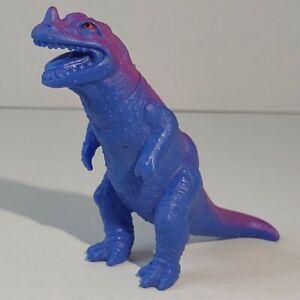 Vintage 1988 Playskool Definitely Dinosaurs CERATOSAURUS Purple Blue Dinosaur