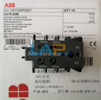 1PC NEW FOR ABB Front Mount Auxiliary Contact CAF6-20M