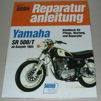 Reparaturanleitung Yamaha SR 500/T ab Baujahr 1984 Reparatur Buch Bucheli Neu!