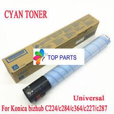 Cyan toner for Konica Minolta bizhub C224e/C284e/C364e/C227/C287 TN321 TN221