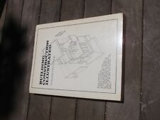 VINTAGE ARCHITECTURE BOOK BUILDING CONSTRUCTION ILLUSTRATED