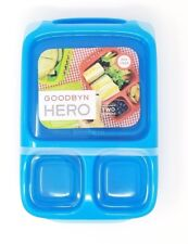 Godbyn Hero lunch box BLUE COLOR