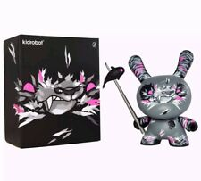 """Kidrobot Angry Woebots Shadow Friend 8"""" Dunny Limited to 1250 pieces"""