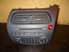 HONDA CIVIC MK8 2006-11 RADIO CD PLAYER HEAD UNIT AIR VENTS 39100-SMG-E016-M1