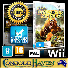 (Wii Game) Cabela's Dangerous Adventures (M) (Sports: Hunting) PAL, Guaranteed