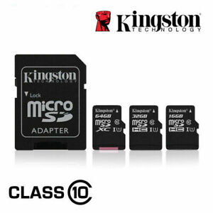 Kingston 4GB 8GB 16GB 32GB Micro SD SDHC Memory Card Class4 TF Card w/ADAPTER