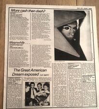 GENESIS 'Story Of' album review 1979 UK ARTICLE / clipping