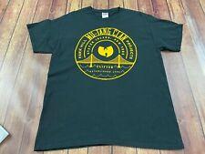 Wu-Tang Clan Men's Black T-Shirt - Large - 2014