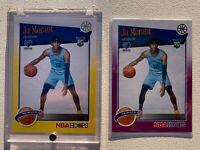 Ja Morant 2019 Panini NBA Hoops RC Rookie #297 Tribute Yellow Purple ROY LOT 2