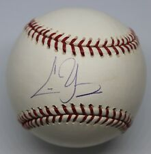 Chris Young Single Signed Baseball Autographed Ball Signature Tristar