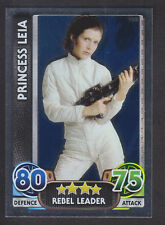 Topps Star Wars - Force Attax The Force Awakens # 162 Princess Leia - Mirror