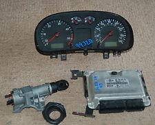 VW BORA 1.9 TDI 2003 110 BHP CLOCKS  ECU SET 038906019 KH 0281011195