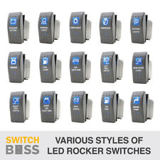 Rocker Switch 77 Styles Blue fit ARB Carling style LED Car Boat 12v Spot Light