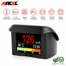 ANCEL A202 Car OBD Smart Alarm Digital Diagnostic Gauge Trip Computer Scanner