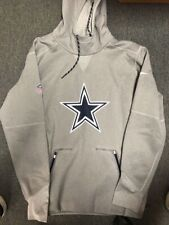 Dallas Cowboys Nike Gray Adult Large Polyester Sweatshirt Official Tags New