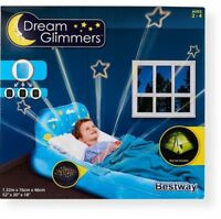 Bestways Dream Glimmers Kids Inflatable Airbed Mattress Camping bed Blue