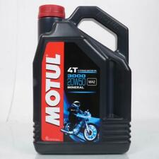 Aceite Motul 20W50 Mineral 3000 para Motor 4T Para Harley-Davidson De 4L