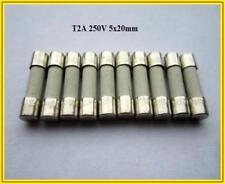 SPT backup CERAMIC T 2a 250v 5x20mm le voci di backup finemente fuse 10 pezzi