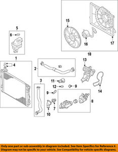 HYUNDAI OEM 12-17 Azera Radiator-Upper Hose 254143V200
