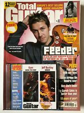 Total Guitar Magazine & CD #104 Dec 2002 Feeder, Jeff Buckley & The Kinks