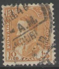 Iraq Usado Amarillo SG178 1934 10f