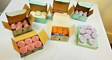 Lot of 55 Partylite Candles Unwind Spiced Plum Jasmine & more Votives Tealights