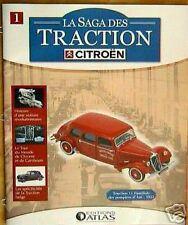 FASCICULE BOOKLET CITROEN TRACTION 11 FAMILIALE POMPIER