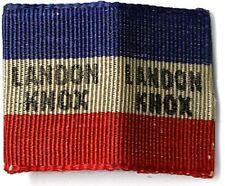 1936 Campaign Alfred LANDON Frank KNOX Cloth Collar Clip (3820)