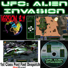 UFO: Alien Invasion Tour DVD action base style X-COM Jeu PC Windows XP Vista 7