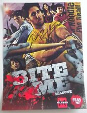 NEW Bite Me Season 2 Poster SIGNED By The Cast Wondercon 2012