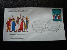 MADAGASCAR - enveloppe 9/12/74 - fokonolona - yt n° 549 - (cy9)