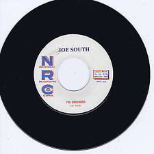 JOE SOUTH - I'M SNOWED / CHILLS (TOP NOTCH GUITAR ROCKABILLY STROLLERS) REPRO